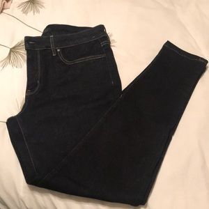 High rise uniqlo jeans